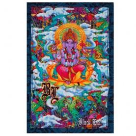 Textilná plachta Ganesha & Mushroom