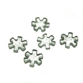 Sitká sklenené 8mm - STARS