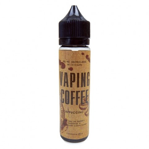 Liquid - Vaping Coffee Cappuccino 50ml