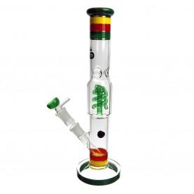 Bong GG Funky Twist Green 38 cm