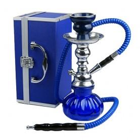 Vodná fajka MINI Smoke + BOX blue
