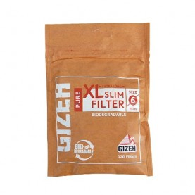 Filter Gizeh XL Long Slim 6mm BIO