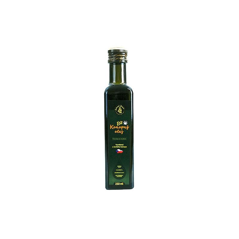 Konopný olej BIO panenský 500ml