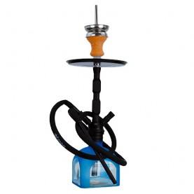 Vodná fajka DUD Totem Modrá 42cm
