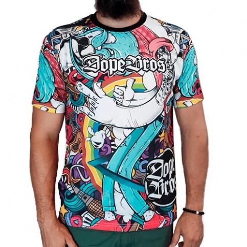 Dope Bros tričko Amsterdam - XXL