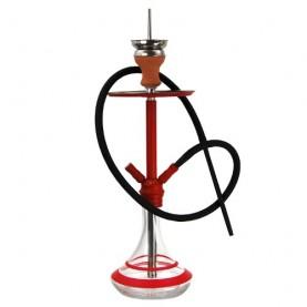 Vodná fajka DUD Mini Space Needle Red 45cm