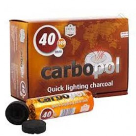 Uhlík Carbopol 40 mm