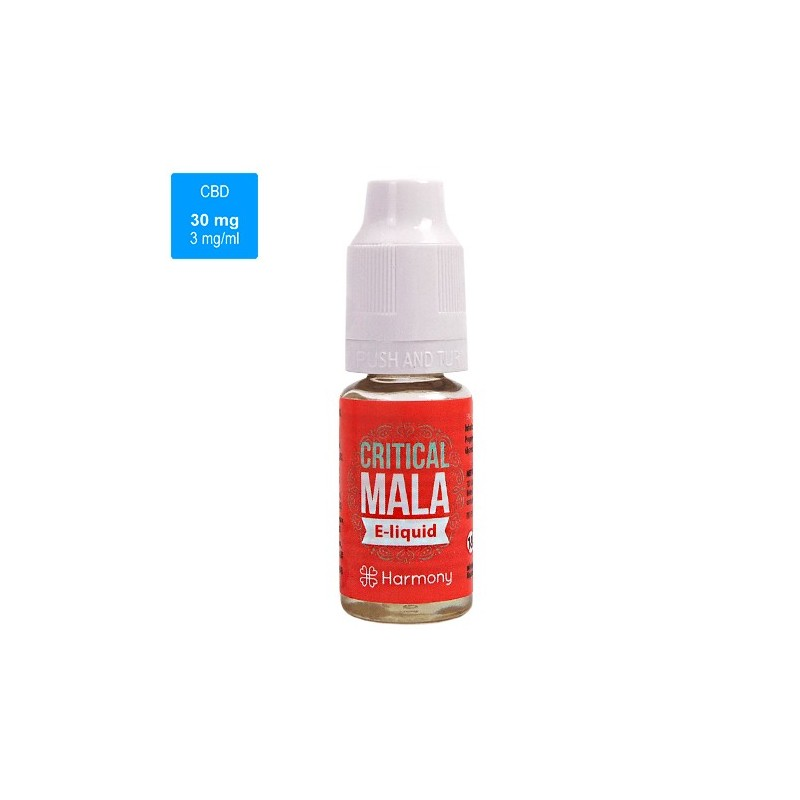 CBD e-liquid HARMONY 30 mg / 10 ml - Critical Mala