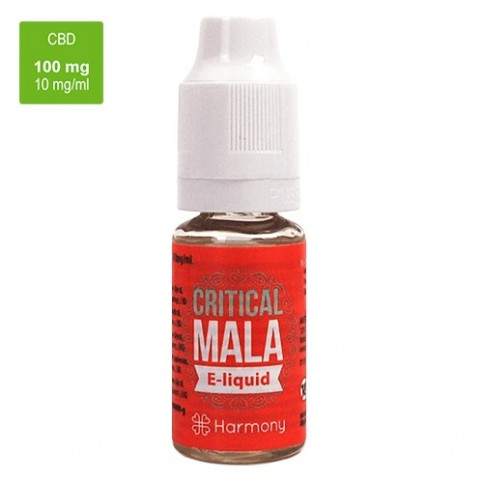 CBD e-liquid HARMONY 100 mg / 10 ml - Critical Mala
