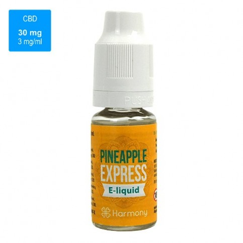 CBD e-liquid HARMONY 30 mg / 10 ml - Pineapple Express