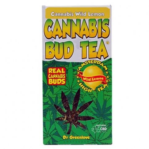 Čaj Cannabis s citrónom