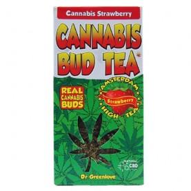 Čaj Cannabis s jahodou