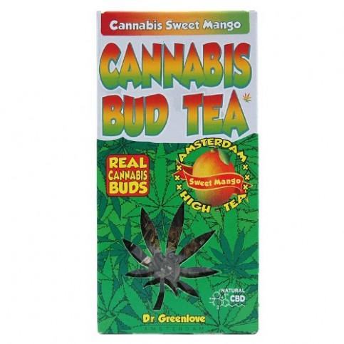 Čaj Cannabis s mangom