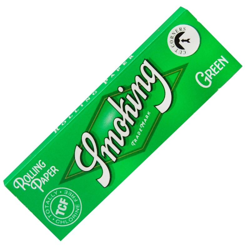 Papieriky Smoking – Green