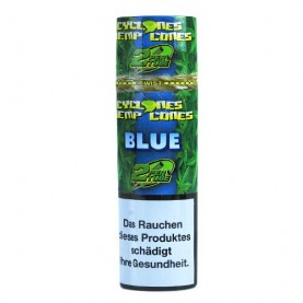 Cyclones Hemp Cone Blunt - Blue 2ks