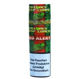 Cyclone Hemp Cone Blunt - Red Alert 2ks