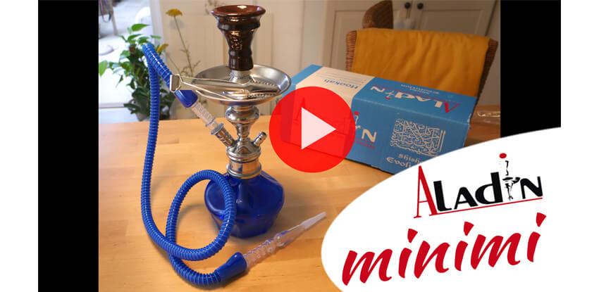 Odkaz na youtube video Aladin minimi Unboxing