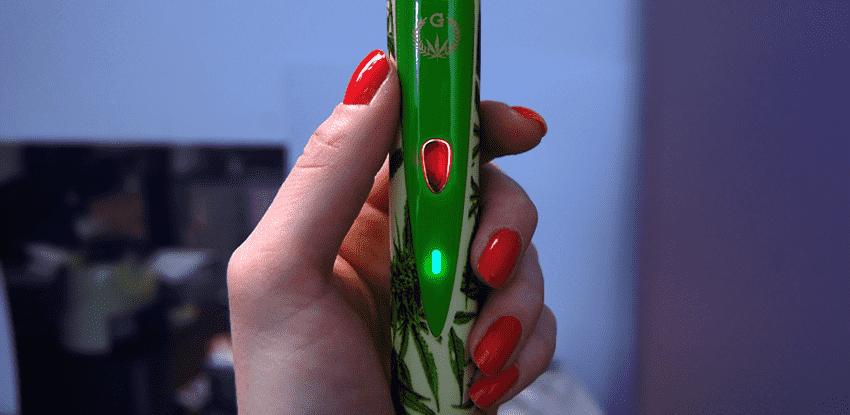 Vaporizer Grenco G Pro svetelna indikácia