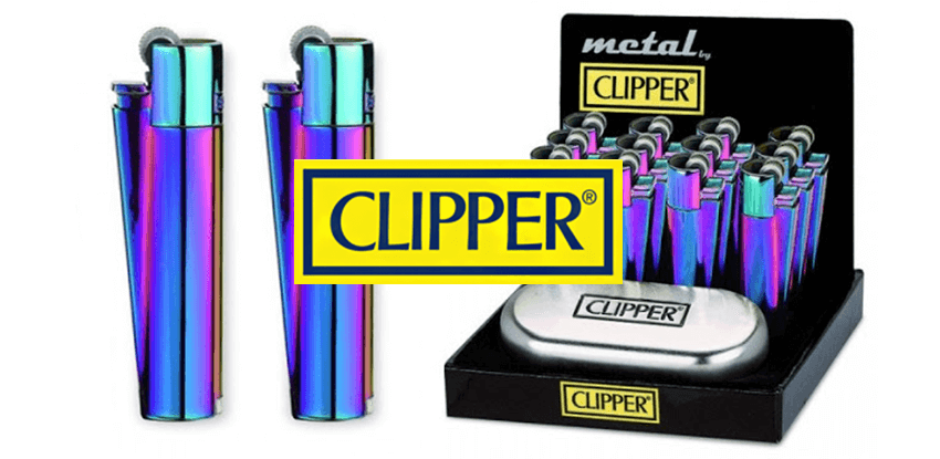 kovový Clipper zapaľovač chameleon